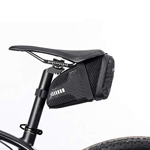LIANYG Rear Rack Bag Bike Bag 3D Shell Rainproof Saddle Bag Reflective Bicycle Bag Shockproof Cycling Rear Seatpost Bag MTB Bike Accessories Saddle Bag (Color : C29)