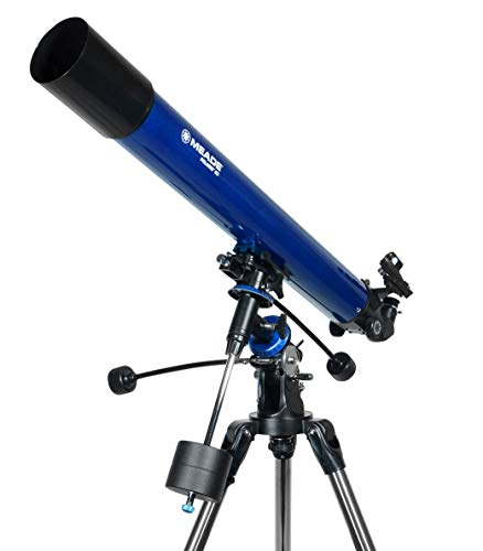 Meade Instruments Polaris 80mm Refractor Azul - Telescopio