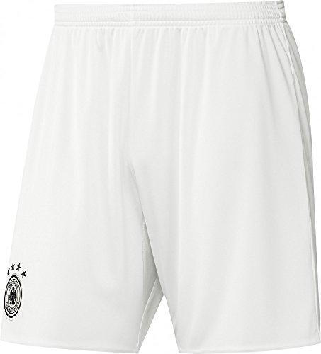adidas Herren Shorts DFB Auswärts, Off White/Black, M