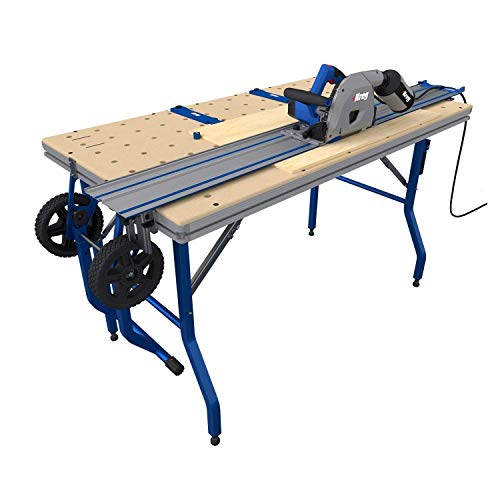 Kreg ACS3000 Adaptive Cutting System Plunge Saw & 62' Guide Track With Project Table