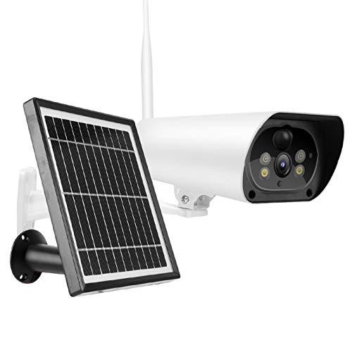 Tomanbery Cámara de Panel Solar 4G para Monitor de Seguridad de Ministerio del Interior(European Version)
