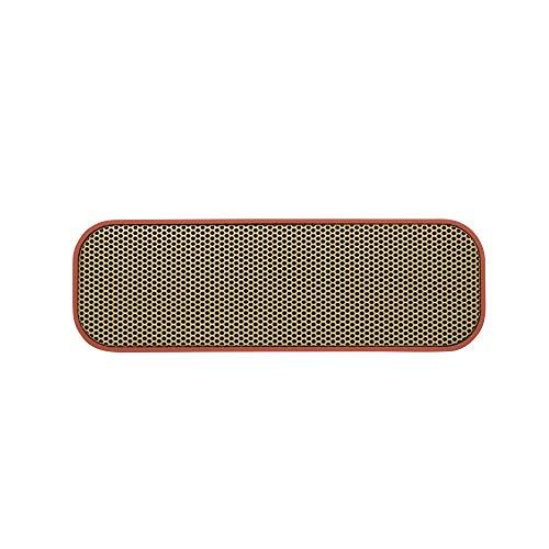 KREAFUNK aGROOVE kompakter Bluetooth Lautsprecher, Soft Coral/Gold