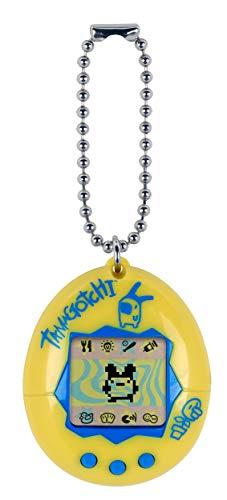 TAMAGOTCHI Original-Amarillo y Azul, Color (Bandai 42812)