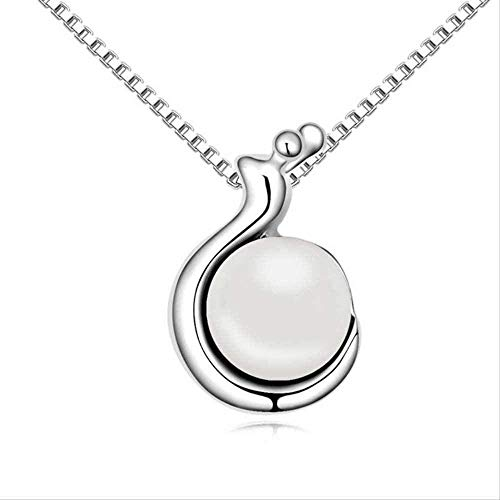 BACKZY MXJP Necklace Fashion Creative Personality Hundred with Accessories Necklace European Retro Personality Necklace Girls Sweet Snail Shape Pendant Necklace