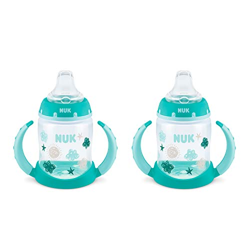 NUK Learner Cup, 5 Oz, 2-Pack, Clouds & Stars