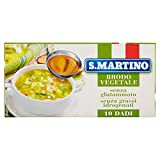 S.MARTINO - Brodo Vegetale 10 Cubi 110G - 110 Gr