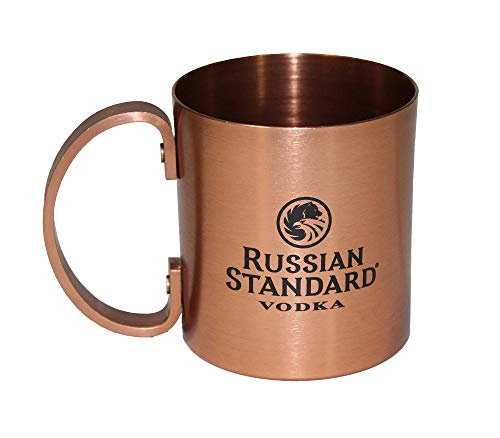 Russian Standard Vodka Copper Moscow Mule Drinking Mug Cup