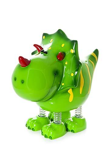 Mousehouse Gifts Kinder Spardose Sparbüchse Piggy Bank Grün Dinosaurier für Jungen und Mädchen