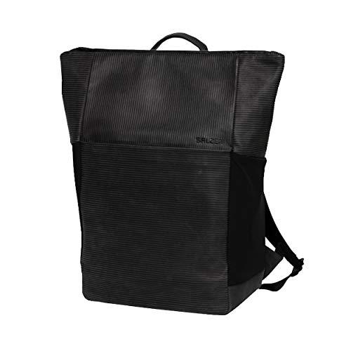 Salzen VERTIPLORER Plain Laptop Backpack 48 cm Aligned Smoke Nubuck Leather
