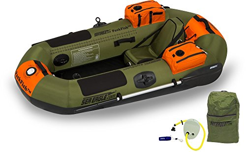 Sea Eagle PF7K PackFish Inflatable Boat Deluxe Fishing Package