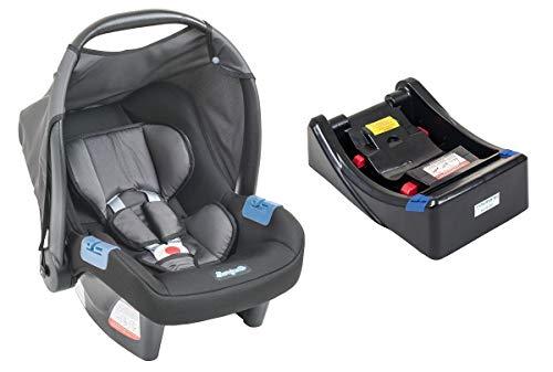 Bebê Conforto Touring Evolution SE Base Burigotto Preto Cinz