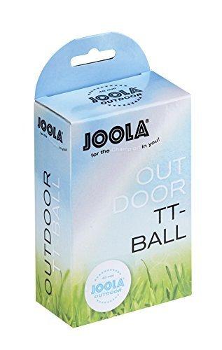 JOOLA Outdoor 6ER Table Tennis Balls (Pack of 6) - White