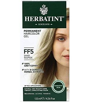 Herbatint Permanent Haircolor Gel FF5 HT00305 FLASH FASHION SAND BLONDE 4 Fl Oz