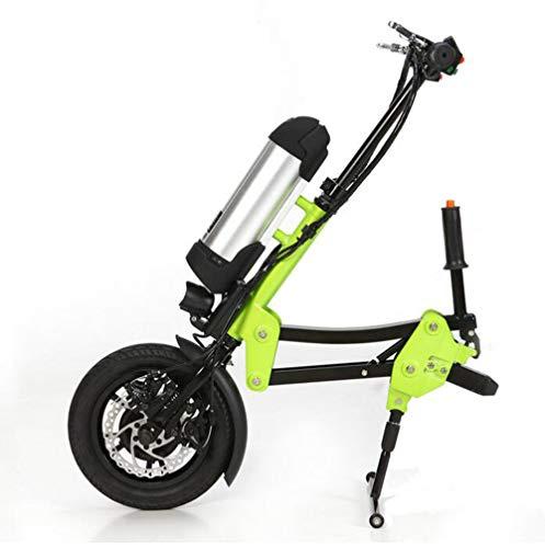 Lichte rolstoelbooster, in hoogte verstelbare opvouwbare wielchairtractor met elektromagnetische rem voor sportrolstoelen, vouwrolstoelen.