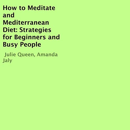 How to Meditate and Mediterranean Diet audiobook cover art