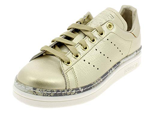 adidas Stan Smith New Bold W, Scarpe da Fitness Donna, Oro (Dorado 000), 36 1/3 EU