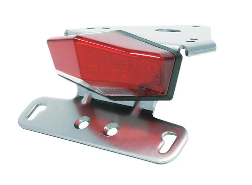 DRC Motoled Edge-2 Aluminium Tail Light Holder w/ LED Light Red DRZ400