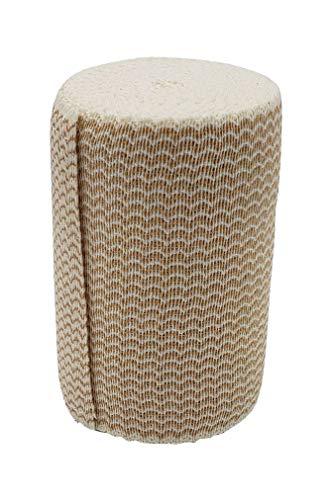 Premium Double Length Elastic Bandages w/Velcro 4' x 11yds