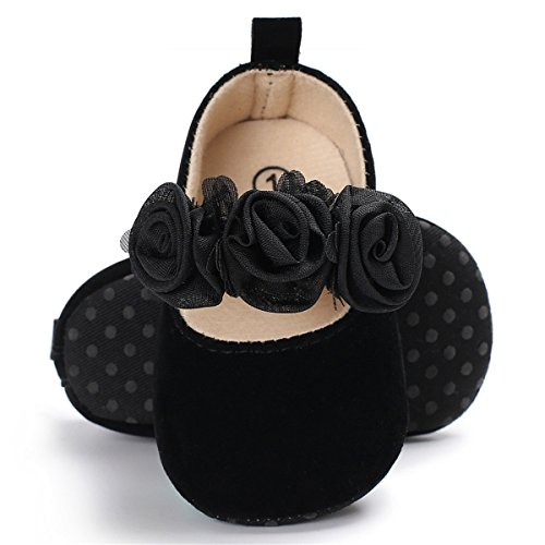 BENHERO Newborn Baby Boys Girls Soft Soled Tassel Bowknots Crib Infant Toddler Prewalker Moccasins Shoes(11cm, 0-6 Months Infant, 5107/Golden