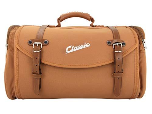 Tasche/Koffer SIP Classic, groß, für Gepäckträger, 480x300x270 mm, ca. 35 Liter, Nylon, braun