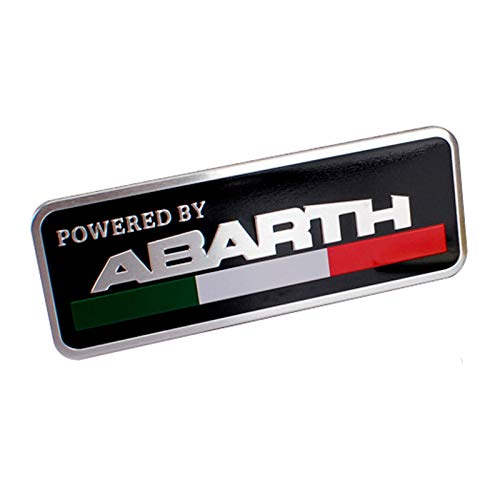 Dljyy - Emblema de metal para coche Abarth 595, 500, 695, 124,...