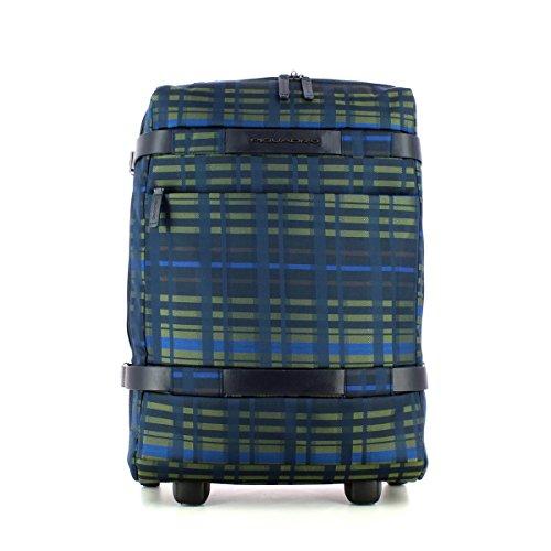 Piquadro Move 2 Zaino Portabilità a Trolley, Sintetico, Nero, 48 cm