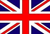 DURABOL  Bandera de Gran Bretaña REINO UNIDO  INGLESA - BRITANICA  Inglaterra150 x 90 cm Satén England Flag+Regalo una pegatina