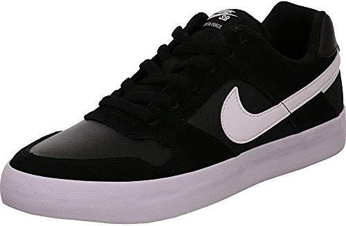 Nike SB Delta Force Vulc, Zapatillas de Skateboard Hombre, Negro (Black/White/Anthracite/White 010),...
