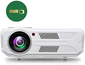 Dinshi Fusion Full HD Projector 3500 Lumen LCD Home Theater 1080p 3D Play