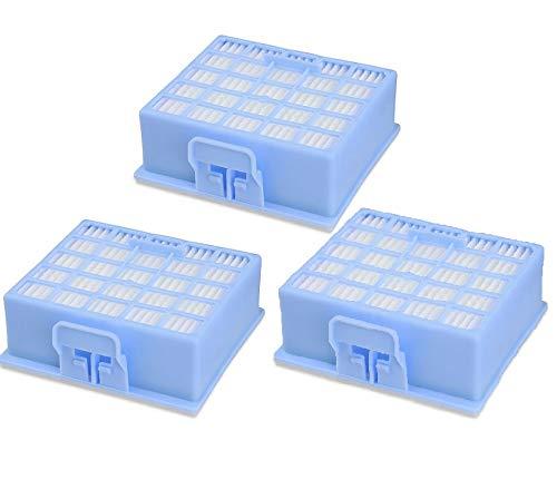 3 Stück Hepafilter Filter passend für Bosch Siemens VS VZ BSG BX BBZ 00578731 VZ153HFB