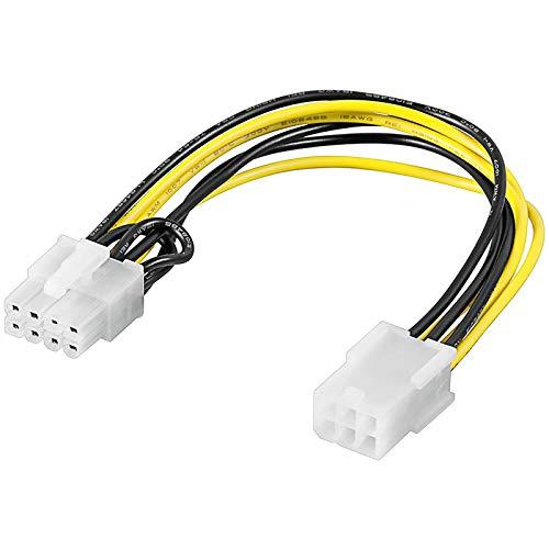 Connect AM146695E PCI Express 6 Pin naar 8 Pin voedingsadapterkabel