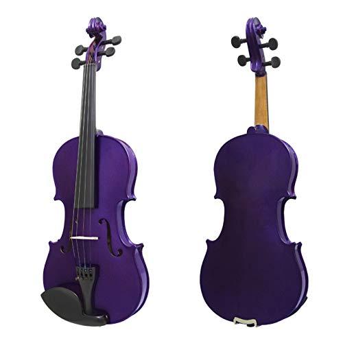 H/A Un violín eléctrico de 4 cuerdas 4/4 violín original sonido violín...