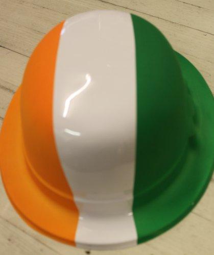 chapeau melon drapeau, Irlande - Saint patricks! - 6 par paquet