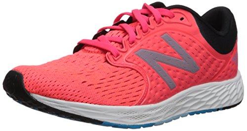 New Balance Women's Zante V4 Running Shoe,vivid coral/black,5.5 D US