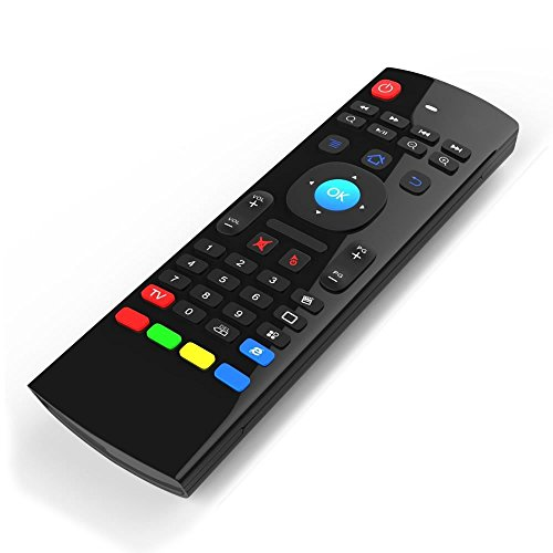 Zedo MX3 Air Mouse 2.4GHz Wireless Keyboard for Google Android Mini PC TV Box, T95N T95Z Plus QBox M8 M8S Plus T8 MXQ Pro MXIII …