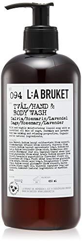 L:a Bruket No.94 vloeibare zeep, sage/rosemary/lavender, per stuk verpakt (1 x 450 ml)