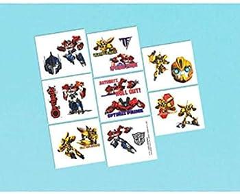 Transformers Tattoos Party Favor - 8 Pcs