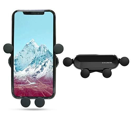 DSJSP Soporte para teléfono de coche gravedad, autoretráctil, estable soporte de coche para iPhone XR/XS Max/XS/X/8/8 Plus/7/7 Plus, Galaxy S10/S10 Plus/S9/Note 9 y más coche