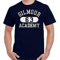 メンズTシャツギルモアアカデミー夏おかしいプリント半袖屋外DIYかわいいTシャツルーズスリム漫画コットンOネックトップス