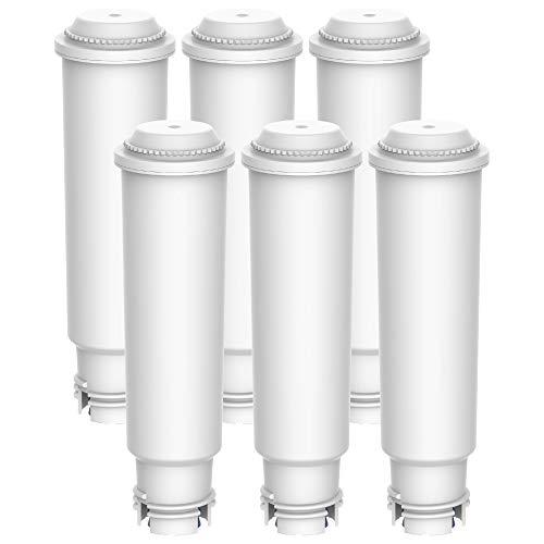 Maxblue Claris F088 TÜV SÜD Zertifiziert Kaffee Filter, Kompatibel mit Krups Claris F088 Melitta Pro Aqua, Passt Viele Modelle von AEG, Bosch, Siemens, Nivona, Melitta, Neff und Mehr (6)