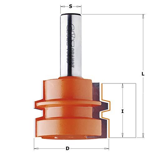 CMT Orange Tools 955.501.11–Fräser HM S Dichtungen 12D 44.4x 32
