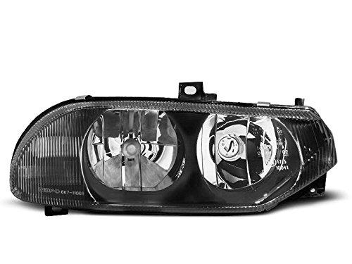 1 paar koplampen 156 97-03 design zwart (R04)