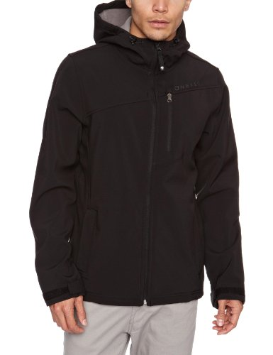 O'Neill Herren Softshell Jacke PM Helix HYPERFLEECE, Black Out, XL, 150308-9010-XL
