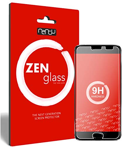 ZenGlass Nandu (2 Pezzi) Pellicola Protettiva in Vetro Compatibile con Umidigi Z PRO I Protezione Schermo 9H I (più Piccolo del Display Curvo)
