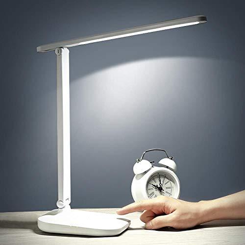 fghrgh Veilleuse LED,Lampe Lampe De Bureau Lampe De Protection des Yeux LED Charge Lecture-Écriture Gradation Tactile Bureau Chambre Chevet Lecture Petite Lampe De Table A642