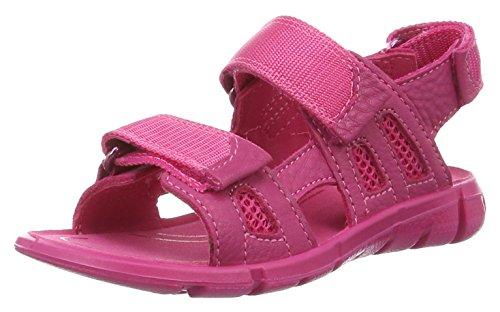 ECCO Mädchen Intrinsic Offene Sandalen mit Keilabsatz, Pink (50229beetroot/beetroot), 33 EU
