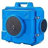MOUNTO AF500 1/3hp 500cfm Industrial HEPA Air Scrubber Air Filtration System Dust Air Cleaner Negative Air Machine