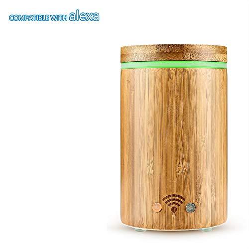 Leyruk Diffusore di aromi Smart WiFi da 160 ml compatibile con Alexa...