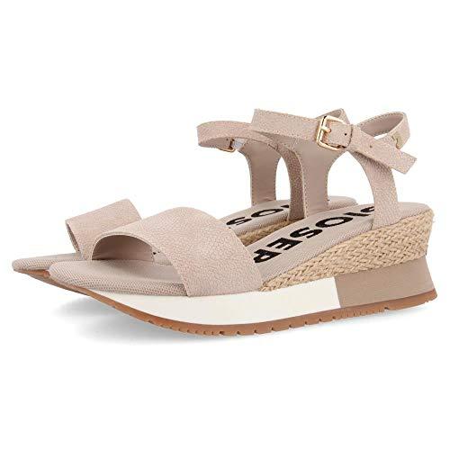 Gioseppo SARCHI, Zapatillas sin Cordones para Mujer, Beige (Beig Beig), 37 EU