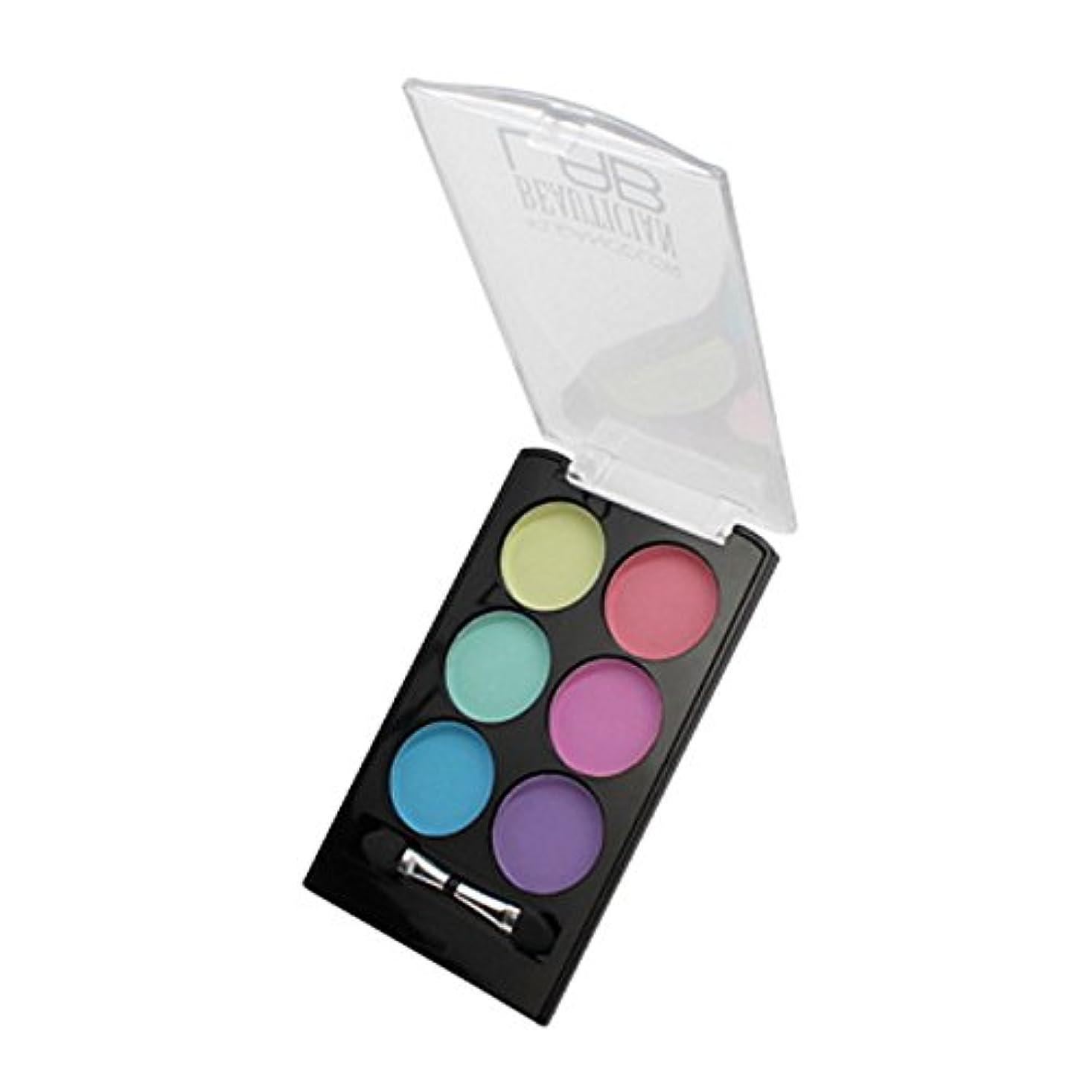 予備腕気分(6 Pack) KLEANCOLOR Beautician Lab Shimmer Shadow Pallete - Tester (並行輸入品)